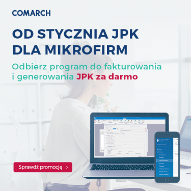 Comarch ERP Optima Pakiet START Mikrofirma za darmo