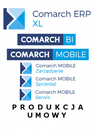 Comarch ERP XL, BI, Mobile, Predokcja